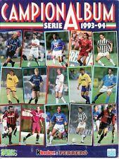 Album Figurine Calciatori CAMPIONALBUM Guerin Sportivo 1993 94 Completo