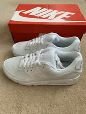 Nike Womens Air Max 90 in white/white size UK 8 EUR 42.5