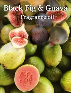BLACK FIG AND GUAVA PROFESSIONAL GRADE FRAGRANCE OIL, 50 ML - CANDLES, SOAP.