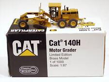 Caterpillar 140H Grader - 1/87 - Brass - CCM - MIB
