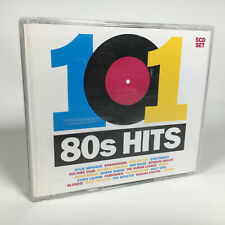 101 80s HITS Various Artists Box Set x5 CD Music Album w/ Booklet ⭐FREE POST⭐