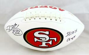 Ricky Watters Autographed San Francisco 49ers Logo Football W/ Insc- Beckett Aut