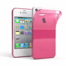 Ultra Slim Cover für Apple iPhone 4 / 4S TPU Case Silikon Hülle Pink