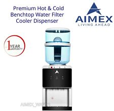 Aimex Benchtop Water Cooler Optional Hot Cold Ambient Tap Bottle Filter Purifier