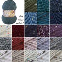 James C Brett Rustic With Wool Aran Yarn Knitting Crochet Craft 400g Ball
