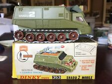 Dinky Shado 2 No 353 Vn Mint Superb