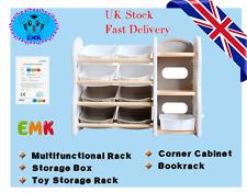 Non-toxic Plastic Storage Rack Multifunction Storage Basket Coner Storage Unit