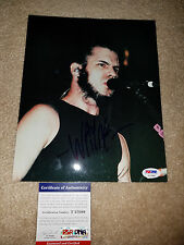 STATIC X Wayne Static signed 8x10 PSA/DNA nu metal