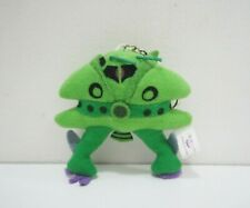 "Mobile Suit Gundam Green Zaku Banpresto 1996 Mascot Plush 3"" Toy Doll Japan"