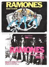 7 Cards: Ramones/Sex Pistols/Bauhaus/Electric Circus/Octagon Postcards Ppd-Usa!