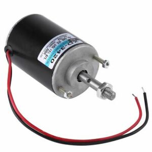 DC12V 30W Permanent Magnet DC Motor DIY Generator High Speed Elektromotor