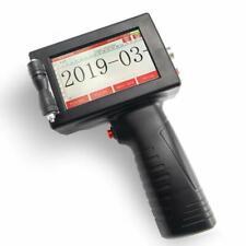 1730 Portable Handheld Inkjet Printer Date Coder Label Printer 600DPI LEDDisplay