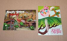 Angry Birds Stella & Comics Promo post card Postcard tarjetas postales Gamescom