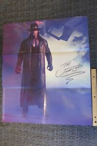 """THE UNDERTAKER Poster 2006 WCW WWE  Wrestling Poster 21x24"""""""