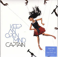 "Captain - Keep An open Mind - Deleted UK 2x 7"" + SIGNED photo NEW"