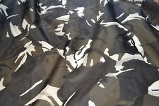 4oz Waterproof Camo Ripstop Army Camouflage Nylon Fabric Material 150cm wide