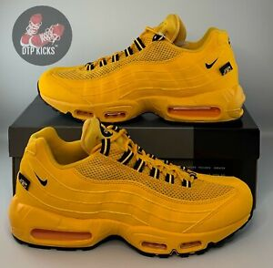 Nike Air Max 95 NYC Taxi University Gold Yellow Black Mens Sizes DH0143-700