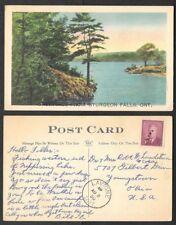 1950 Canada Postcard - Greetings from Sturgeon Falls, Ontario