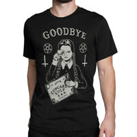 The Addams Family Movie T-Shirt, Wednesday Goodbye Graphic Tee