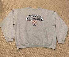 Boston Red Sox 2004 World Series Champions Adidas Crewneck Sweatshirt Mens XL