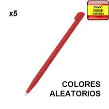 5 x lapiz puntero Stylus Pens para Nintendo DS, DS Lite, DSi, DSi XL, 2DS, 3DS