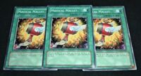 Yugioh Magical Mallet SD09-EN027 NM/MINT 3X Common 1st Edition