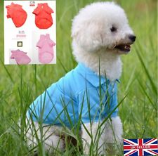 UK Seller Cute Boy Girl Dog Puppy Outfit Tee for Small Dogs Cats Pets Clothing
