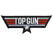 New TOP GUN US Navy Pilot Air Force Attack Fighter Weapons Iron on Patches #P076