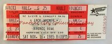 Orig Dallas Concert Ticket 1985 Actor Singer Jack Wagner @ Bronco Bowl