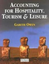 Accounting for Hospitality, Tourism and Leisure, Owen, Gareth, Used; Good Book