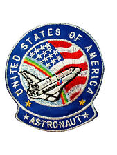 NASA ASTRONAUT embroidered Iron/Sew On Patch