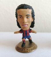 Ronaldinho Barcelona Corinthian Microstar Figure GOLD Base mc2135
