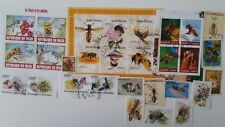 25 Different Bees on Stamps Collection