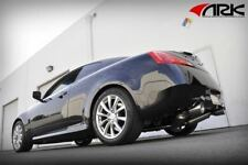 ARK Cat-Back Exhaust System Polished for 2008-2015 Infiniti G37 Coupe RWD Q60
