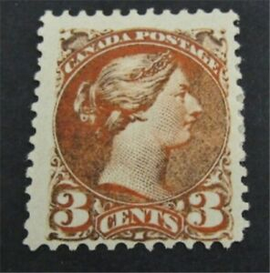 nystamps Canada Stamp # 37e Mint OG H $390 Perf 11 1/2 x 12  L23y2634