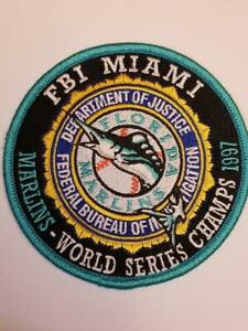 """FBI Miami """"Marlins - World Series Champs 1997"""" (Unique FIRST No. FC 1 of FC 400)"""