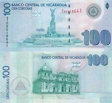 Nicaragua 100 Córdobas (2012) - Monument/Catedral de Leon/p204 UNC