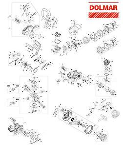 Ersatzteile für DOLMAR PS-35 C Benzin-Motorsäge