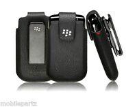 Genuine BlackBerry Koskin Leather Swivel Holster / Case for Bold 9700 9780 9790