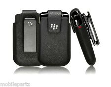 Genuine BlackBerry Leather Swivel Holster Case for Bold 9700 9780 9790 8520 9300