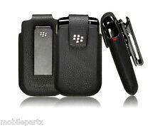 Genuine BlackBerry Koskin Cuero Funda/Funda Giratoria Para Bold 9700 9780 9790
