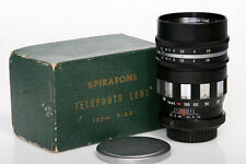 Spiratone 135mm f2.8 Telephoto Lens Exakta T Mount With Original Box