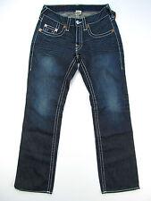 True Religion Bobby Big T Whiskey Creek Blue Jeans Hose Denim Neu 31
