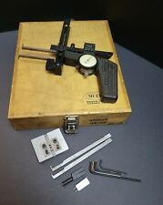 Mueller Internal External Groove Gage With Tips Amp Case Inspection Metrology Bore
