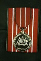 *AUSTRALIAN DEFENCE MEDAL,MOUNTED FULL SIZE REPL. MEDAL FOR YOUR OFFICE DISPLAY