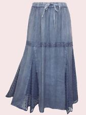 Viscose Plus Size Asymmetrical Skirts for Women