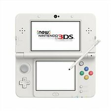 kb09 New Nintendo 3DS White System Model Console kisekae Japan Import F/S