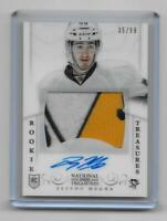 Jayson Megna 2013-14 Panini National Treasures Rookie Patch Auto RPA #35/99