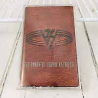 VAN HALEN For Unlawful Carnal Knowledge 1991 Cassette Tape Eddiie Van Halen