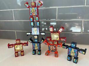 Hasbro McDonald's Nak Nak Stacking Monster Toys Lot of 7 from 2003